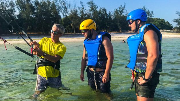 Un spot de kite paradisiaque : la lagune de Bilene au Mozambique