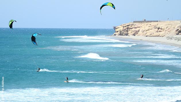 stage de kite sur les fameux spots du north shore péruvien