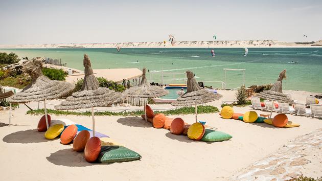 Votre sjéour kite pour progresser sur la lagune de Dakhla au Maroc