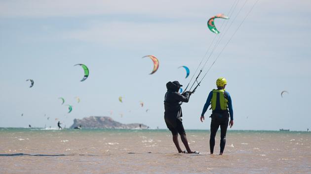 Votre séjour kitesurf sur la lagune de Dakhla au sud Maroc