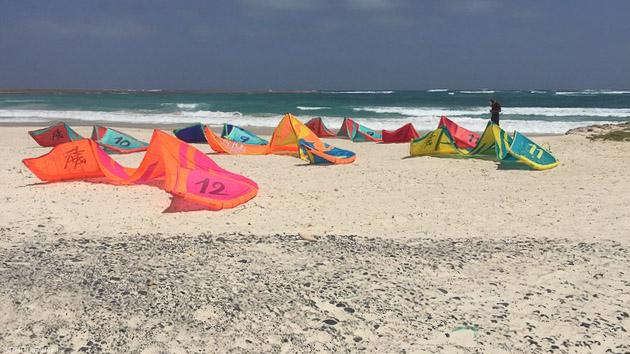 Porgressez en kitesurf sur les meilleurs spots du Cap vert