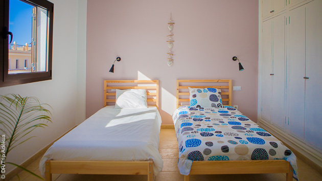 Notre surfcamp tout confort vous accueille pour ce stage de kite à Fuerteventura