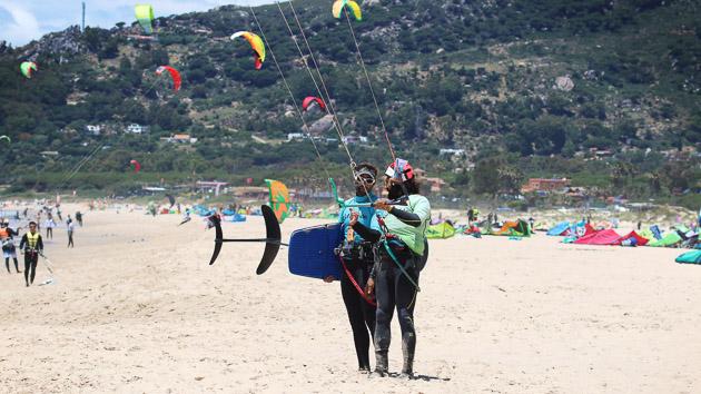Un stage de kitefoil idéal pour progresser sur les spots de Tarifa