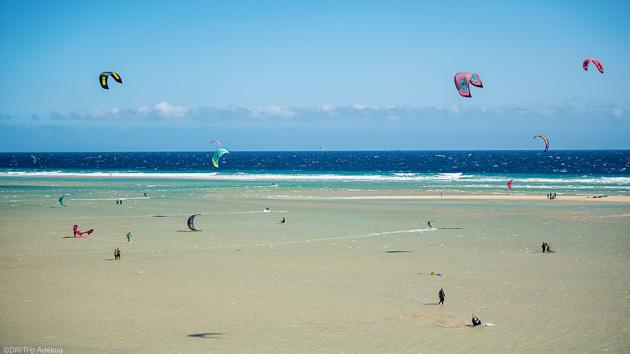stage de kite aux Canaries