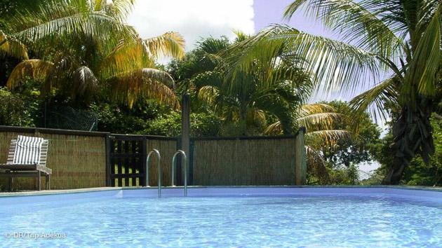 la piscine de votre bungalow à st François