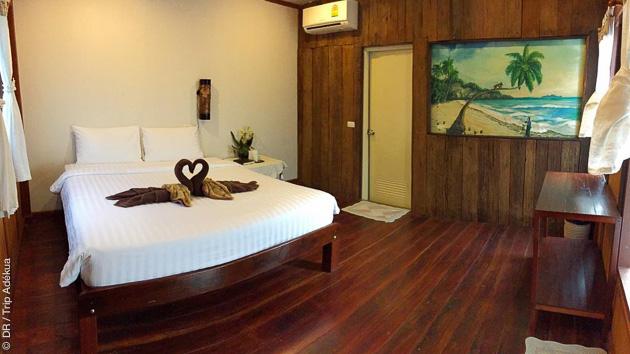 Superbe chambre en bungalow pour votre séjour kite en Thaïlande