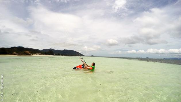 Des cours de kite en Thaïlande pour progresser dans un cadre idyllique