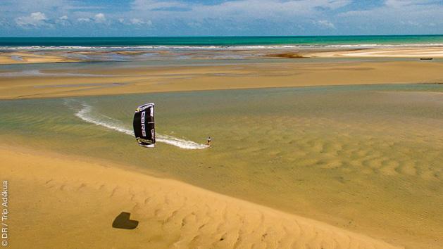 Progressez en kite sur les meilleurs spots de Jeri au Brésil