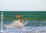 Le pack kite pour autonomes avec transport sur le spot de Barra au Brésil - voyages adékua