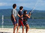Votre découverte et votre stage de kite au Costa Rica, sur le spot de playa Copal  - voyages adékua
