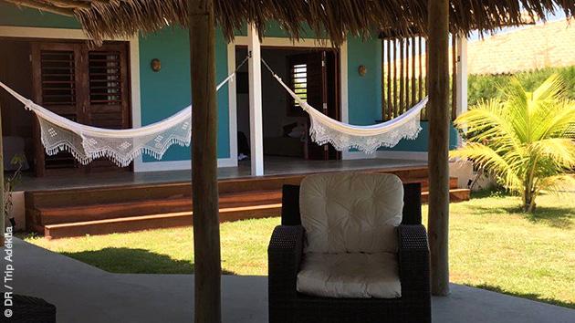 Un hébergement luxe pour ce séjour kite au Brésil
