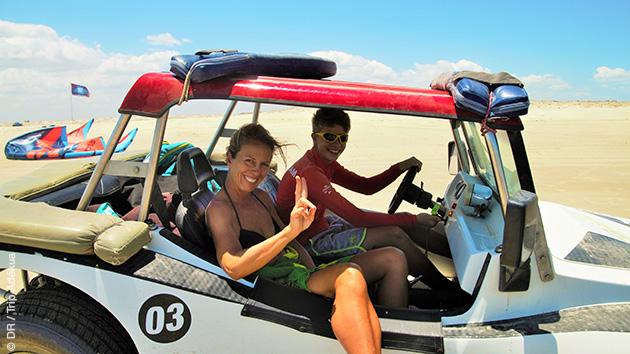 Superbe séjour kitesurf à Pontal de Maceio, initiation ou perfectionnement sur la lagune