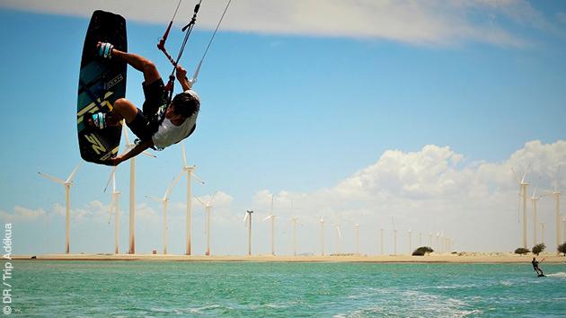 Stage de kite intensif ou initiation, toutes les conditions réunies pour un séjour idéal au Brésil