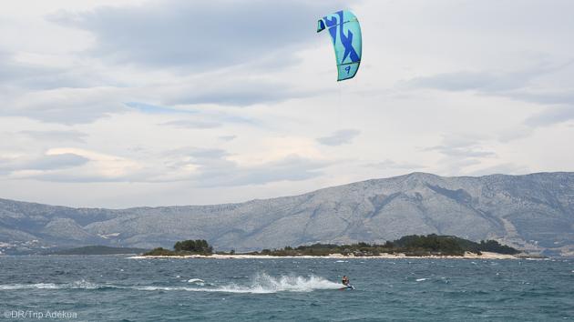 Progressez en kitesurf pendant votre séjour en Croatie