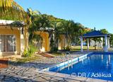 Votre studio avec vue imprenable sur le lagon paradisiaque et piscine - voyages adékua