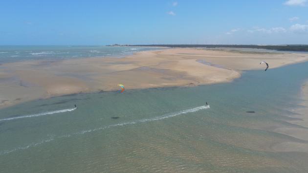 Des vacances kitesurf de rêve au Brésil