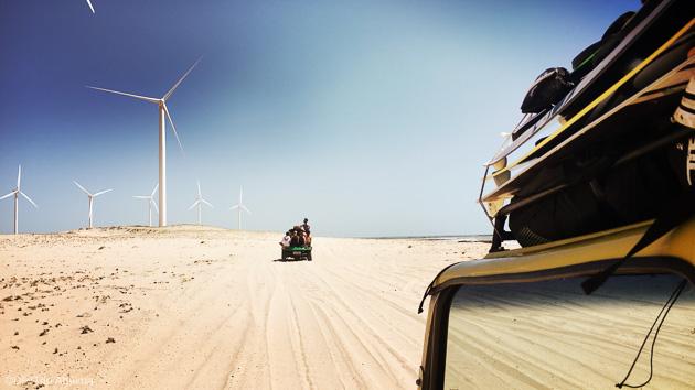 Découvrez le Nordeste pendant votre séjour kitesurf au Brésil