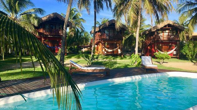 Votre pousada avec piscine pour profiter de votre séjour kite au Brésil