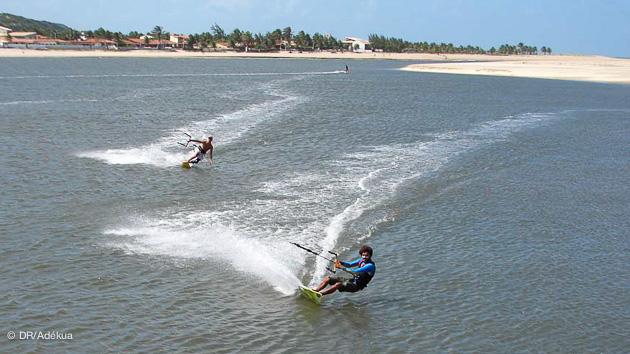 votre stage de kitesurf au Brésil sur la lagune de Tibau do Sul