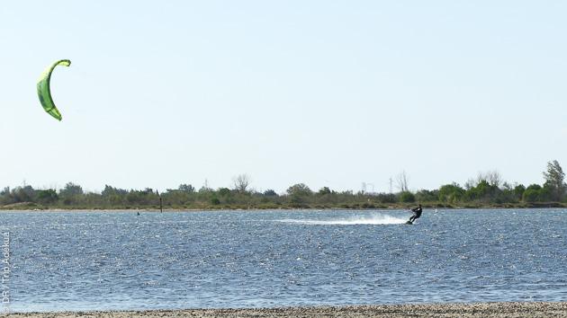 Un séjour au calme, entre sessions kite et découverte de la région autour de Canet