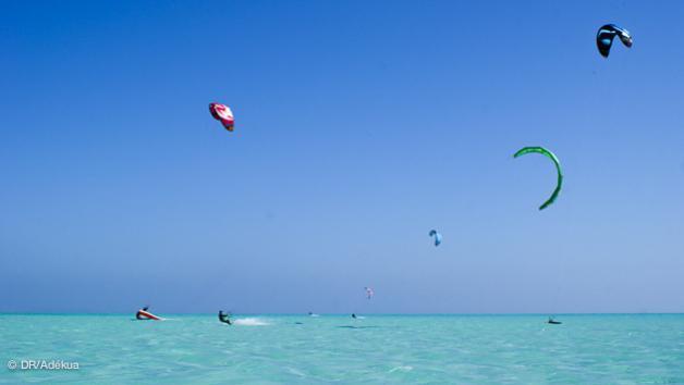 voyage kitesurf à El Gouna sur le meilleur spot de kite d'Egypte
