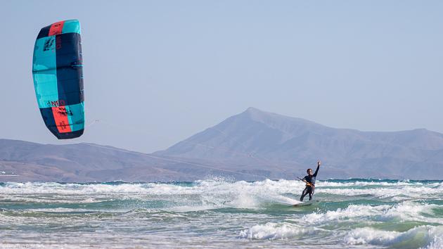 Un séjour kitesurf idéal pour progresser sur le spot mythique de Sotavento