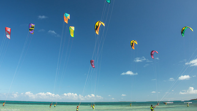 Votre séjour kitesurf à l'Anse Mourouk sur l'île de Rodrigues