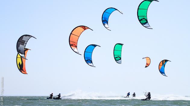 10 heures de cours de kitesurf pour progresser sur la lagune de Dakhla