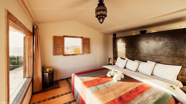 Profitez de la vue incroyable sur la lagune de votre bungalow VIP