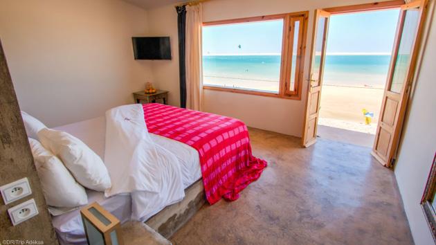 Votre bungalow VIP avec vue sur le spot de kitesurf de Dakhla