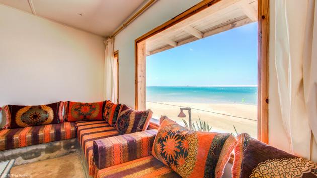 Votre bungalow tout confort pour savourer votre séjour kitesurf à Dakhla