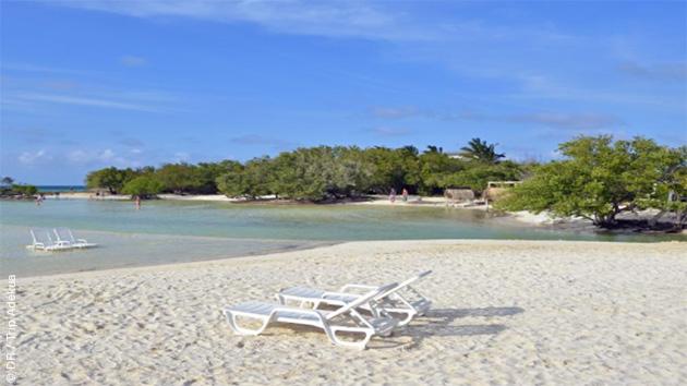 Des magnifiques plages de sable blanc vous accueillent pendant ce séjour kitesurf en duo à Cuba