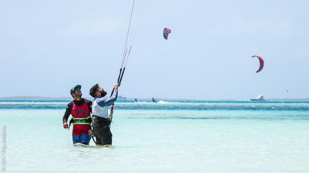 Le spot de Los Roques, votre paradis pour un séjour kitesurf