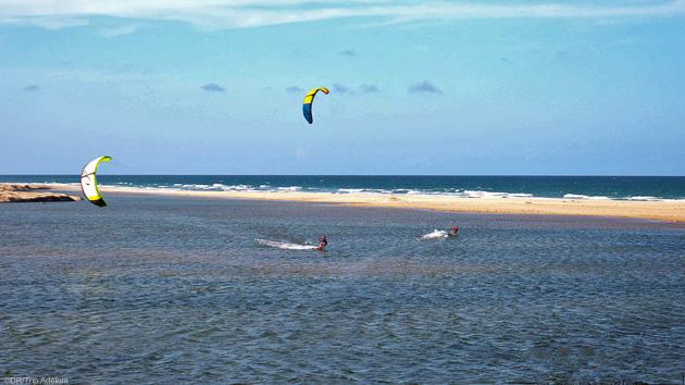 spot de kite de rêve au Brésil près de Lagoinha