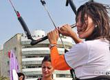 Jours 1 à 4 : vous logez sur la plage à Carthagène en face du spot de kitesurf - voyages adékua