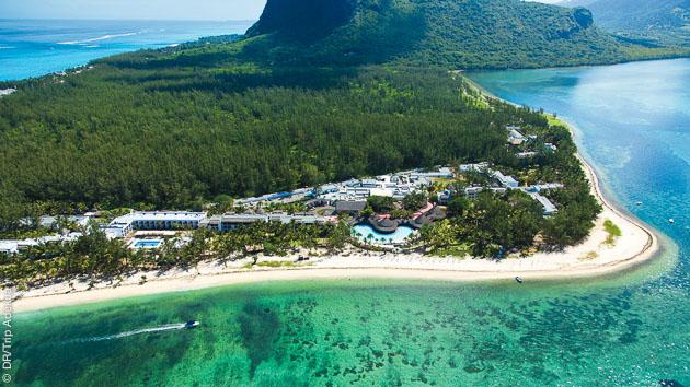 votre hotel le Riu au Morne pour votre stage de kitesurf luxe à l'ile Maurice