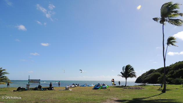 Mise à l'eau parfaite pour vos vacances kitesurf en Martinique