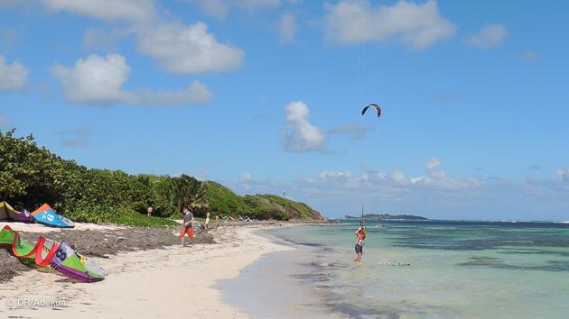 super spot de kite en Martinique