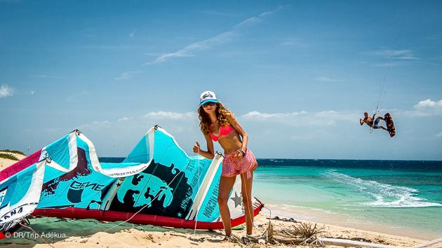 en couple ou en famille un super séjour kitesurf à Cabarete
