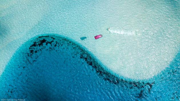 Découvrez les plus beaux spots de Los Roques pendant votre séjour kitesurf