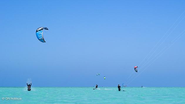 stage de kite en mer Rouge