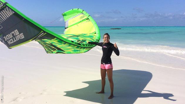 voyage kite à Zanzibar