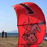 Commentaire de Catherine sur son séjour kitesurf en Espagne, sur le Delta de l'Ebre avec Vincent et Trip Adékua