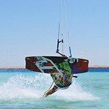 Commentaire de Sid sur son séjour kitesurf à El Gouna en Egypte avec Sherif et Trip Adékua