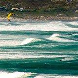 Commentaire de Jocelyn sur son séjour kitesurf au Cap, en Afrique du Sud, avec Patrice et Trip Adekua