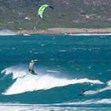 Commentaire de Frédéric sur son séjour kite en Afrique du Sud avec Patrice et Trip Adekua