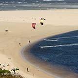 Commentaire Anne Eva kitesurf trip Afrique du Sud Cape Town Patrice et Trip Adékua