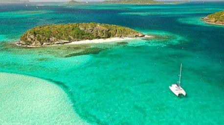 Votre séjour kitesurf aux Caraïbes en catamaran, inoubliable !