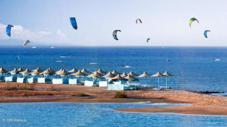Votre hôtel sur le spot de kitesurf de El Gouna