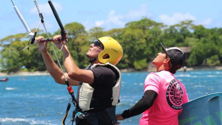stage de kitesurf à Tahiti et Polynésie